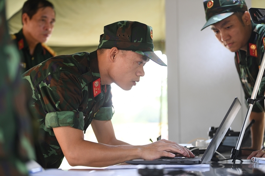 What content does the Vietnam People's Army Delegation participate in at the International Military Games Army Games 2021?  - Photo 3.