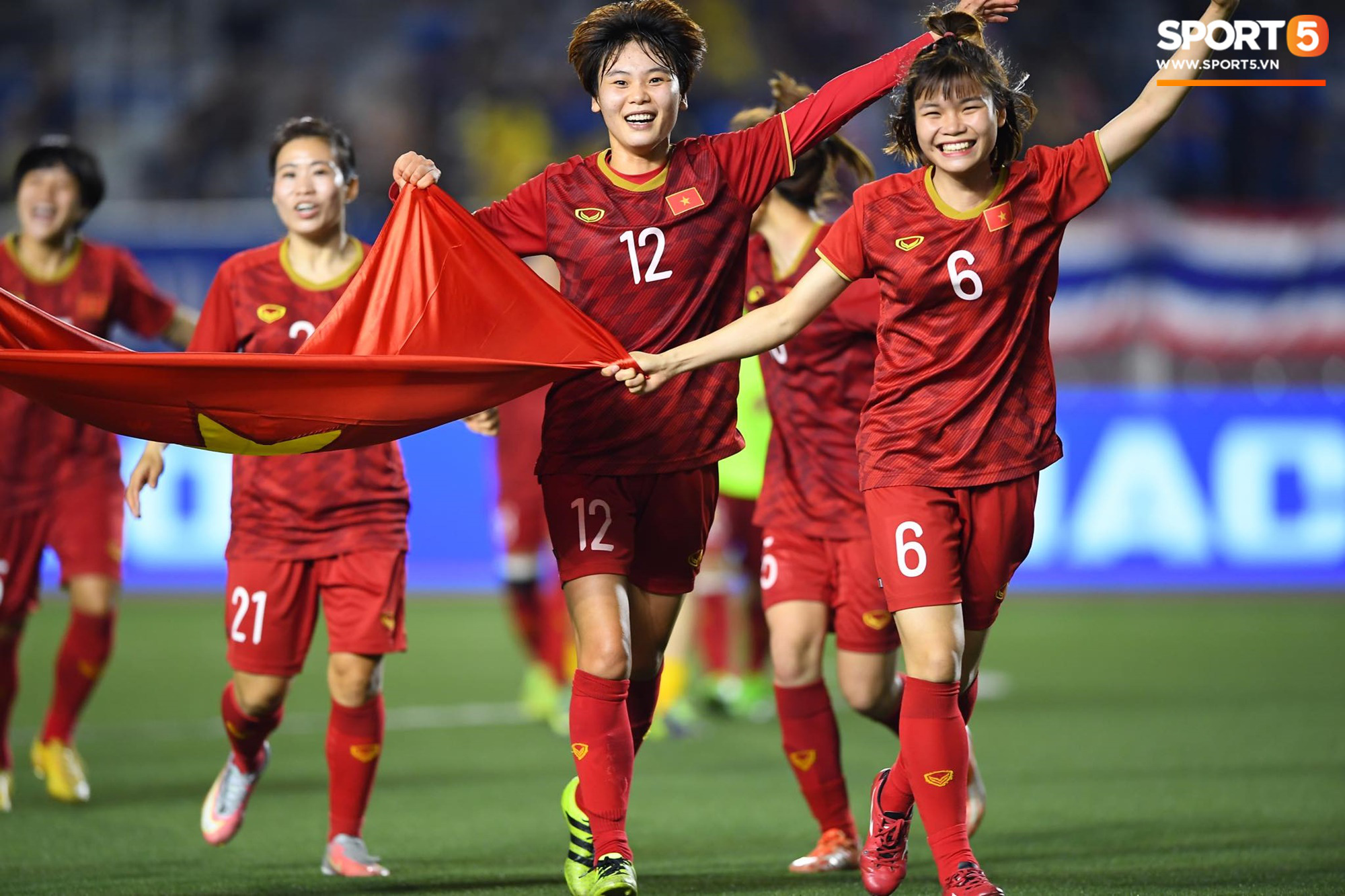 Vietnamese women's football holds the top 6 in Asia - Photo 1.