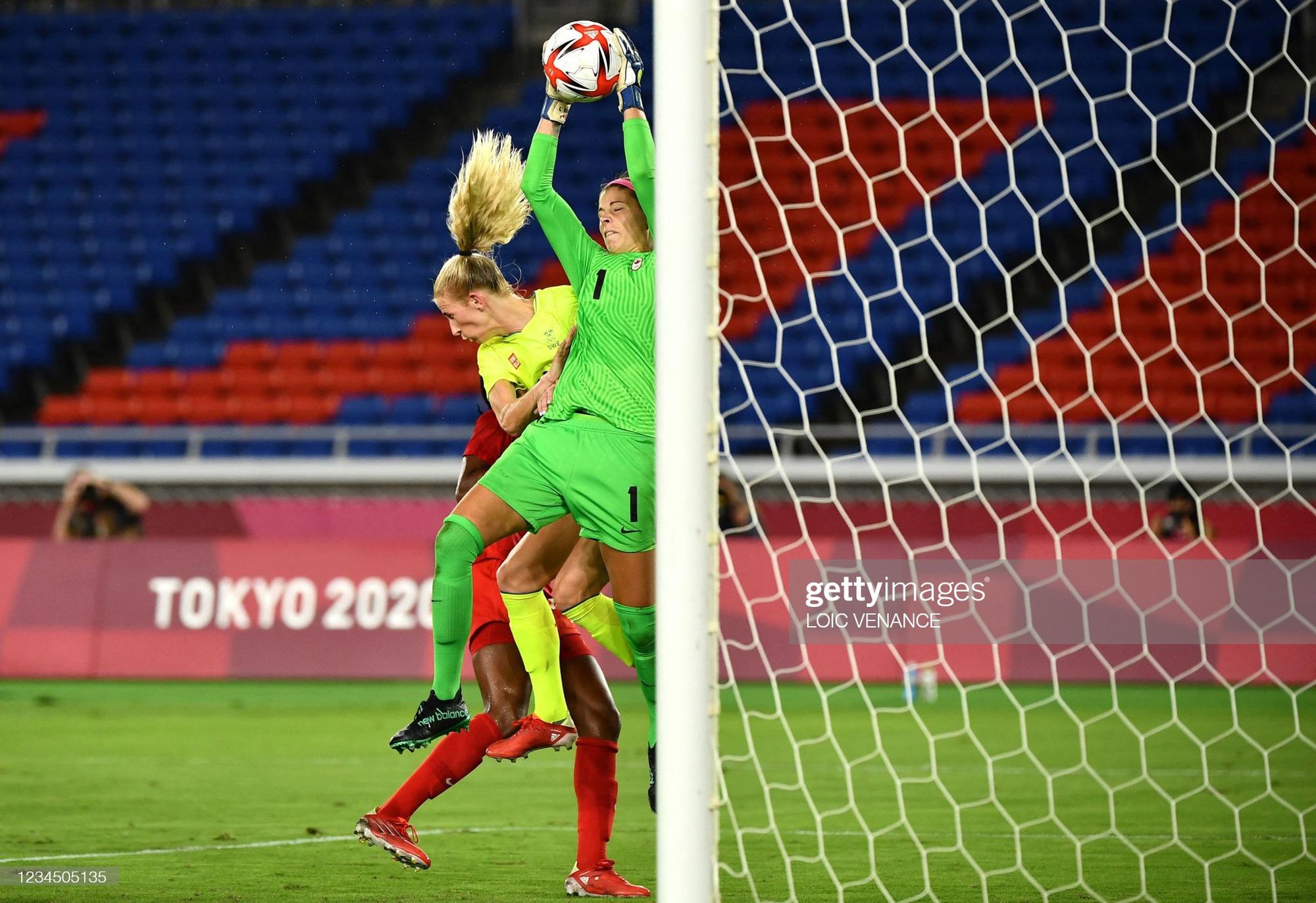 Đá hỏng liên tiếp 3 quả luân lưu, Canada vẫn vô địch bóng đá nữ Olympic 2020 - Ảnh 2.