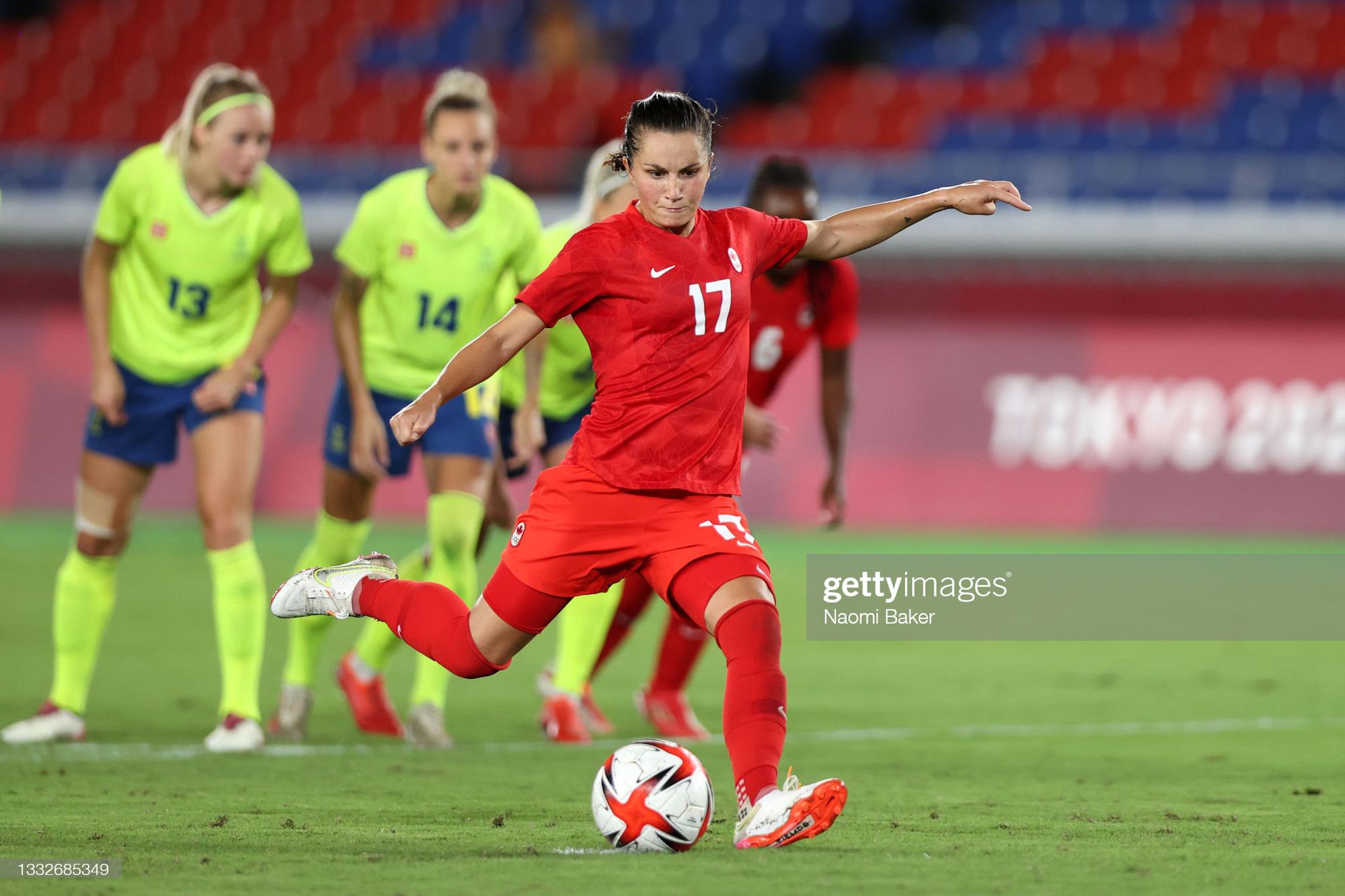 Đá hỏng liên tiếp 3 quả luân lưu, Canada vẫn vô địch bóng đá nữ Olympic 2020 - Ảnh 5.