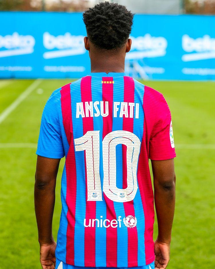 Vì sao Barca trao áo số 10 của Messi cho Ansu Fati? - Ảnh 3.