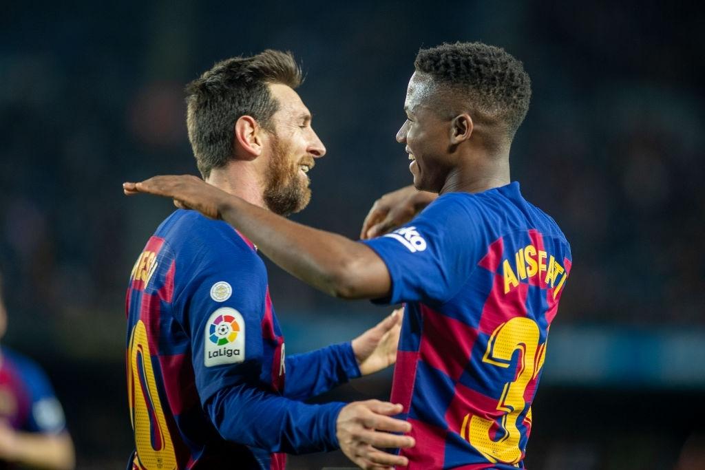 Vì sao Barca trao áo số 10 của Messi cho Ansu Fati? - Ảnh 6.