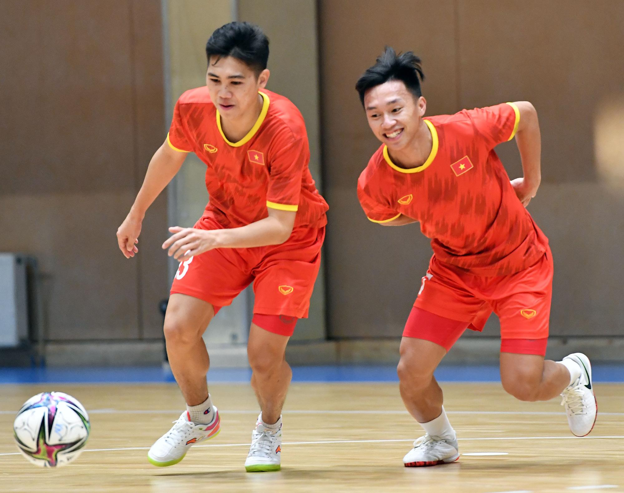 """Đội tuyển futsal Việt Nam: """"Hứa giành kết quả tốt để làm món quà tinh thần cho người hâm mộ vượt qua dịch bệnh"""" - Ảnh 2."""