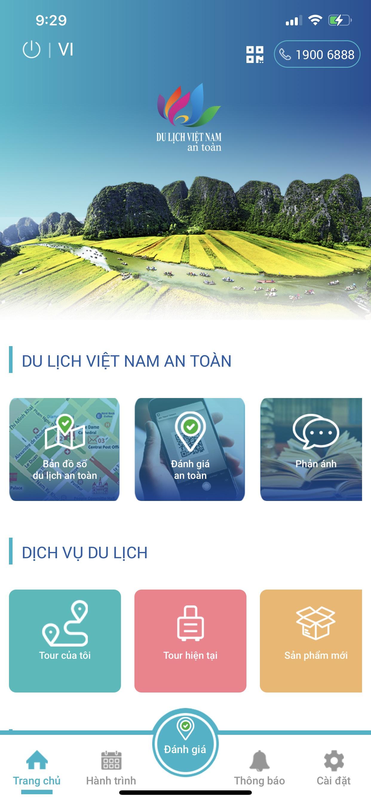 Ngành du lịch đẩy mạnh ứng dụng công nghệ phục vụ thí điểm đón khách quốc tế - Ảnh 1.