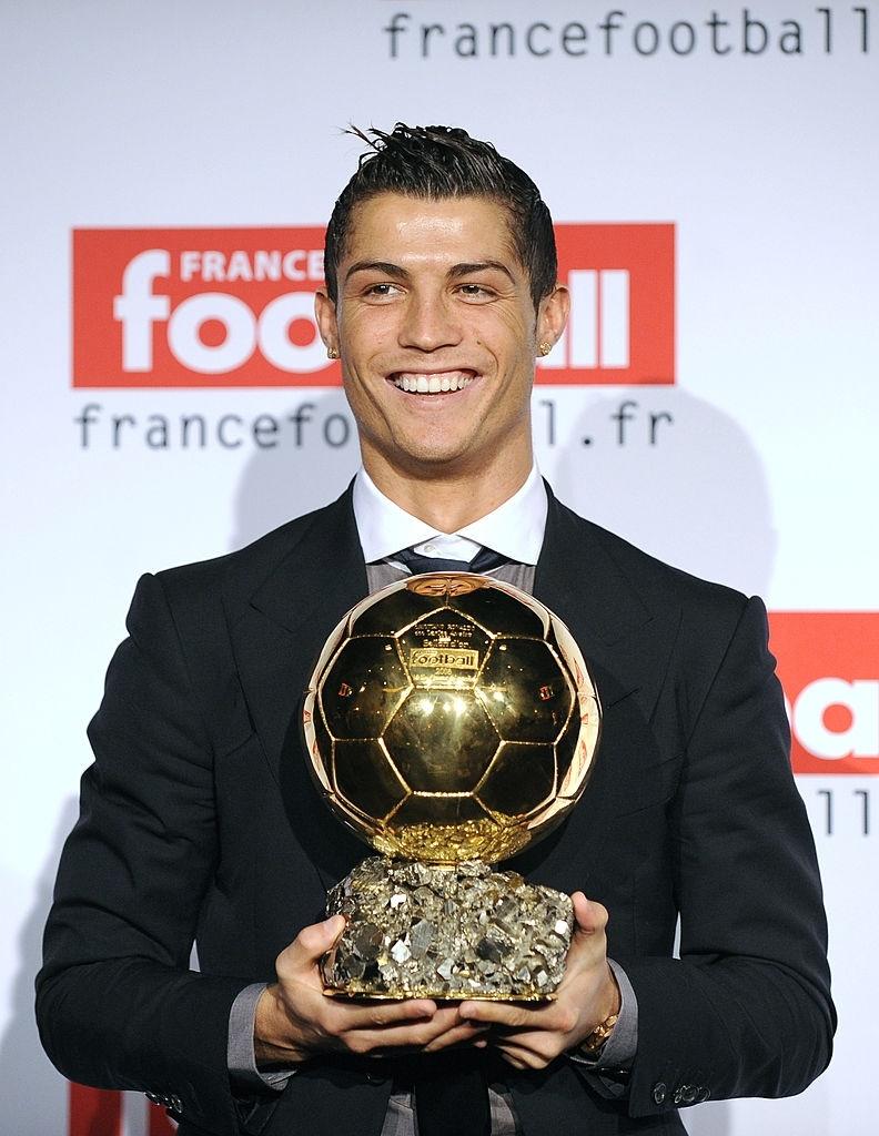 Ronaldo giành Quả bóng Vàng đầu tiên năm 2008