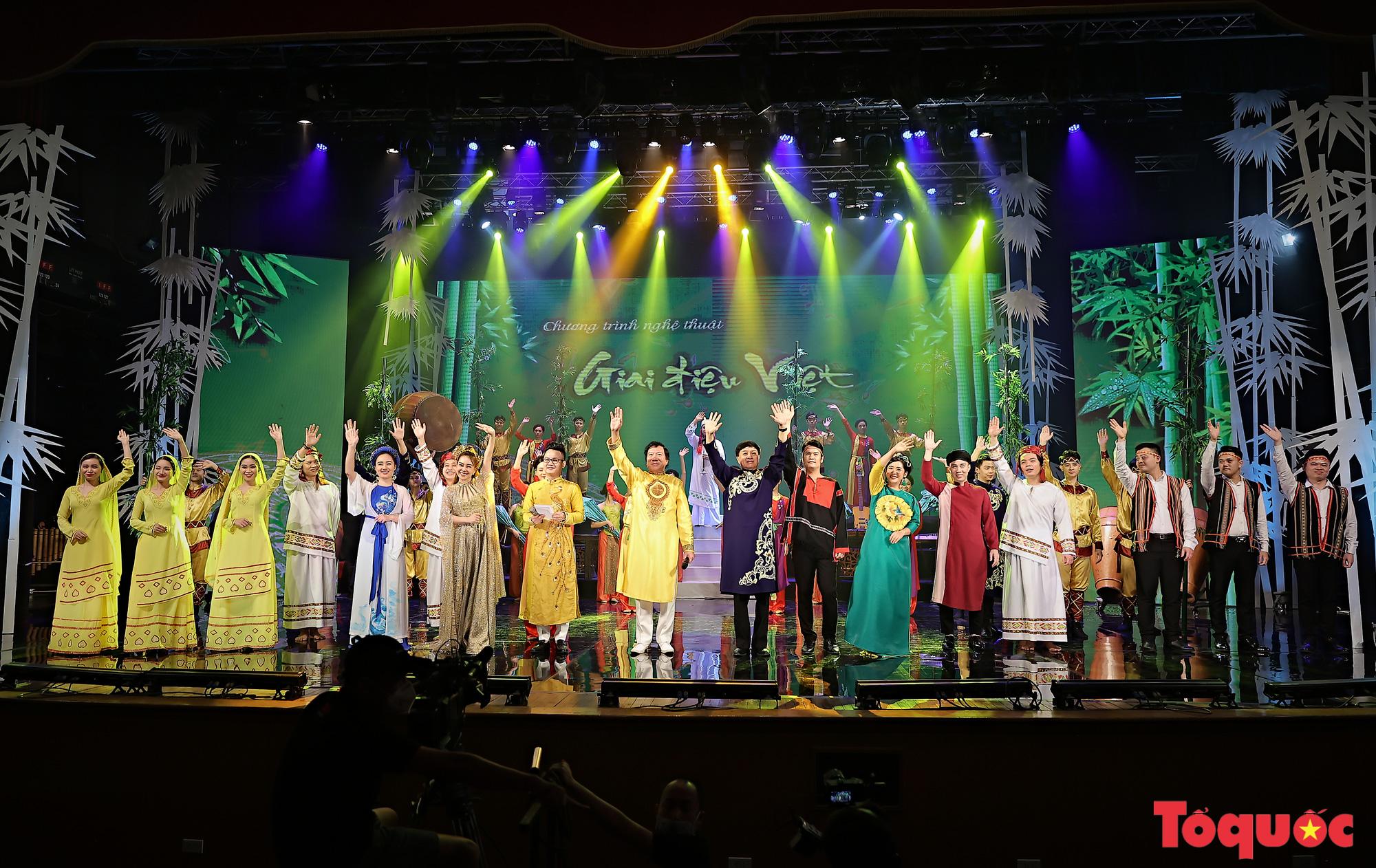 """Chương trình """"Giai điệu Việt"""": Món quà nghệ thuật đặc sắc của cộng đồng các dân tộc Việt Nam - Ảnh 13."""