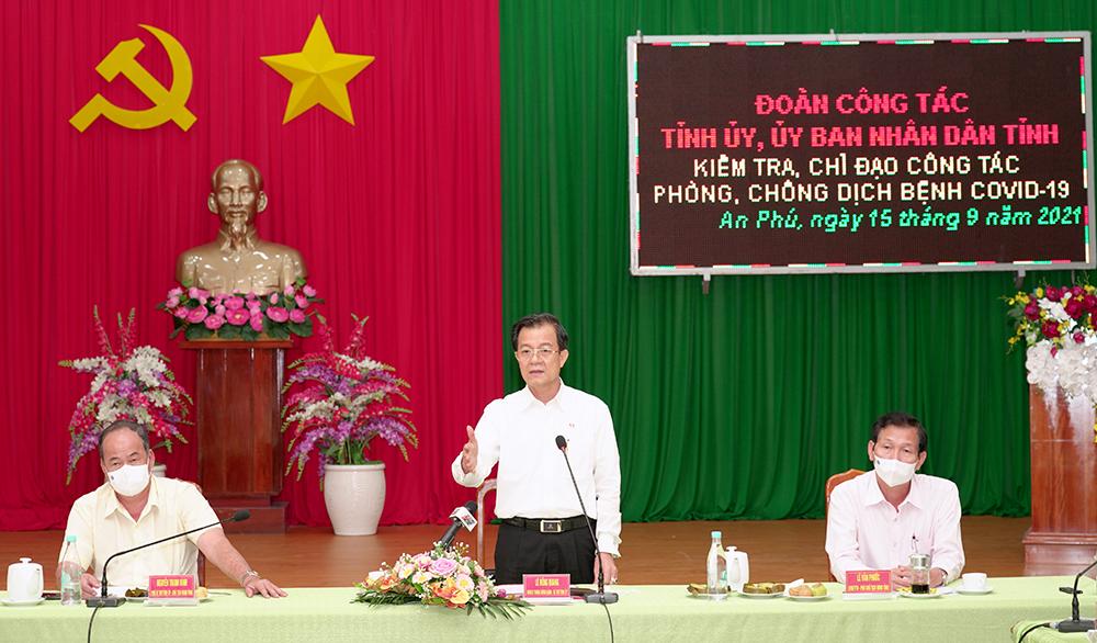 Thủ tướng gọi nhắc nhở huyện có số ca mắc Covid-19 nhiều nhất tỉnh lúc nửa đêm, An Giang họp khẩn - Ảnh 1.