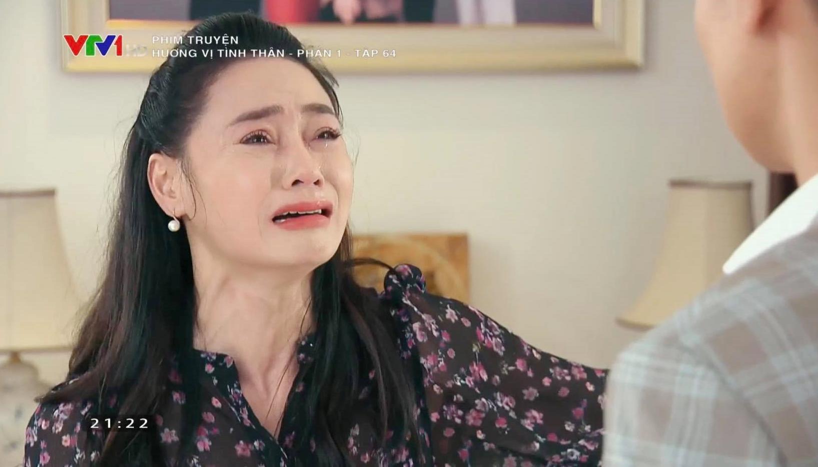 Quách Thu Phương là diễn viên bị đánh đập nhiều nhất phim Hương vị tình thân - Ảnh 6.