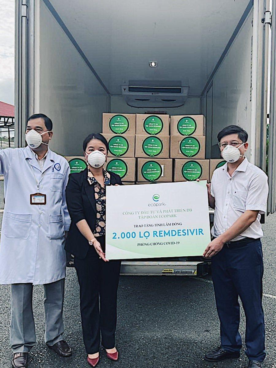 Lô thuốc 200.000 lọ Remdesivir đặc trị Covid-19 về Việt Nam được phân bổ thế nào? - Ảnh 5.