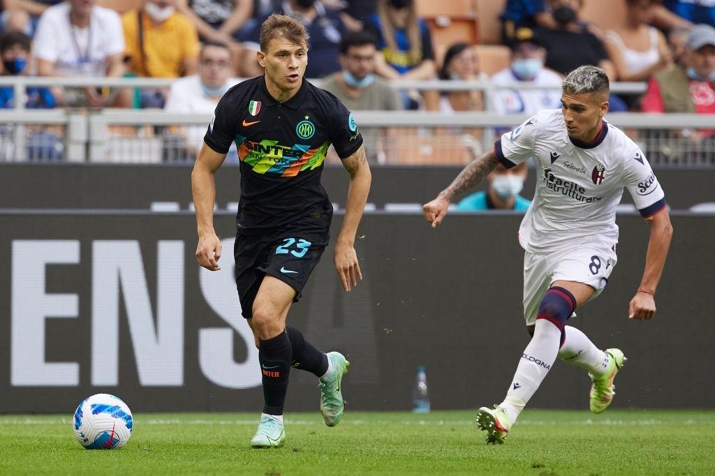 """Hậu vệ thay nhau tỏa sáng, Inter Milan """"đánh tennis"""" trên sân nhà trước Bologna - Ảnh 4."""