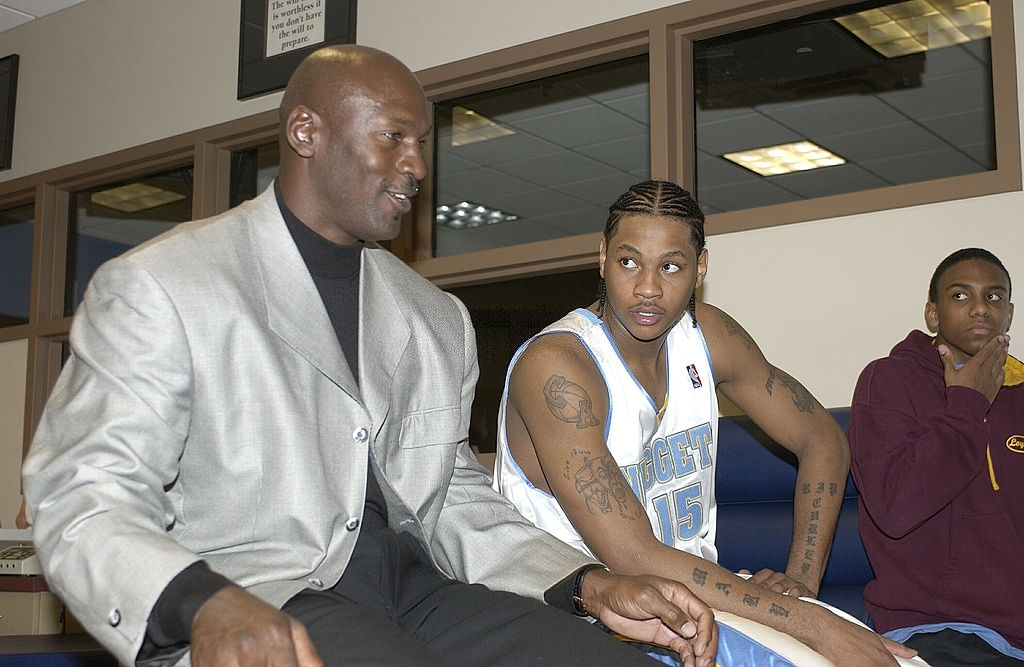 Michael Jordan chính là người mở khoá khả năng ghi điểm khủng khiếp của Carmelo Anthony - Ảnh 1.