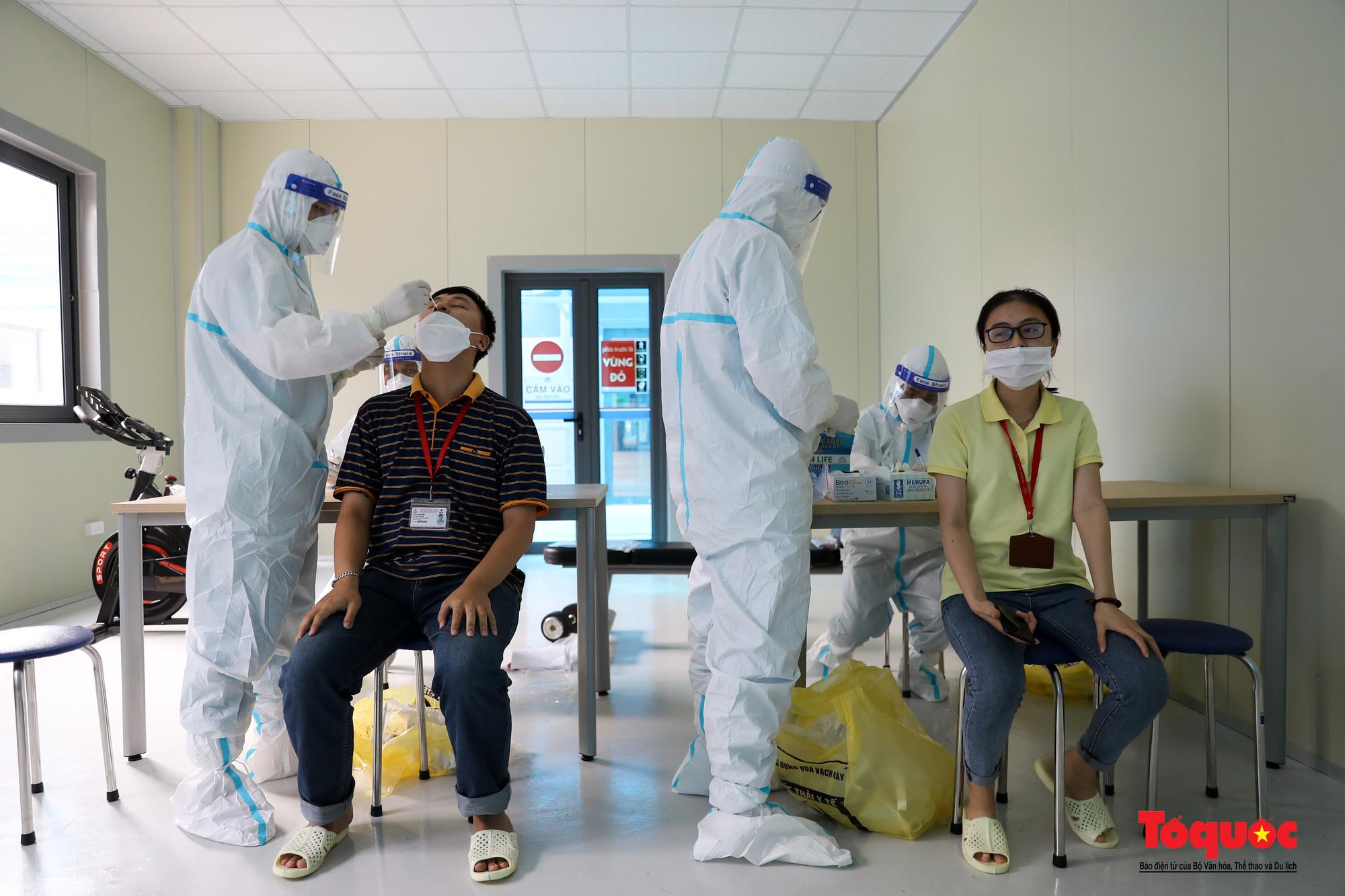 Hà Nội: Cận cảnh bên trong khu điều trị hiện đại của Bệnh viện điều trị người bệnh Covid 19  - Ảnh 23.