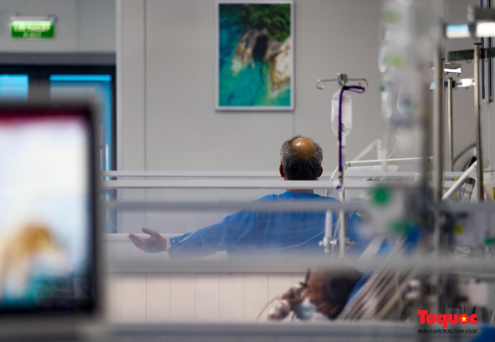 Hà Nội: Cận cảnh bên trong khu điều trị hiện đại của Bệnh viện điều trị người bệnh Covid 19  - Ảnh 17.