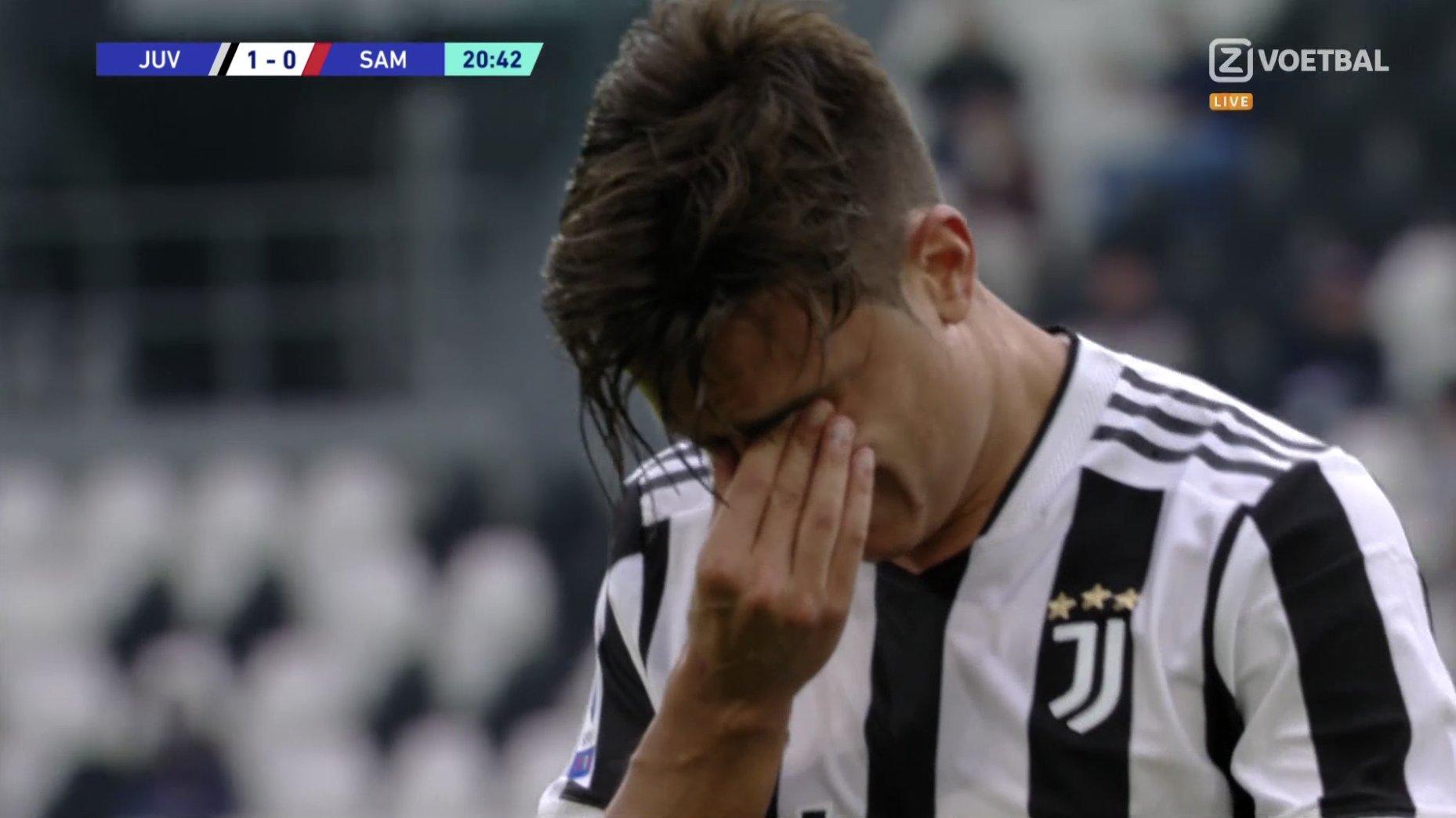 Dybala đau đớn lau nước mắt rời sân vì chấn thương - Ảnh 8.