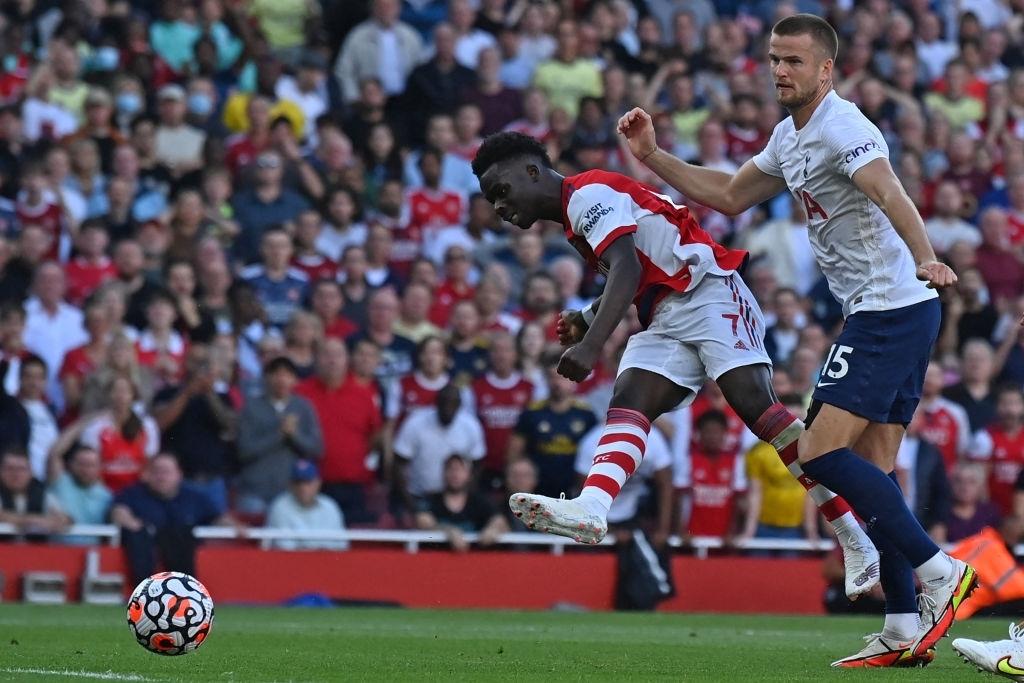 Arsenal 3-1 Tottenham: Smith-Rowe rực cháy giúp Pháo Thủ thắng lớn trận derby London - Ảnh 7.