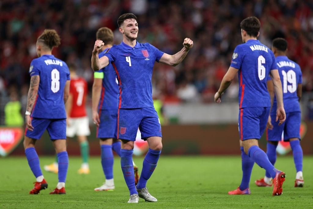 Declan Rice ấn định trận thắng thứ tư liên tiếp cho ĐT Anh