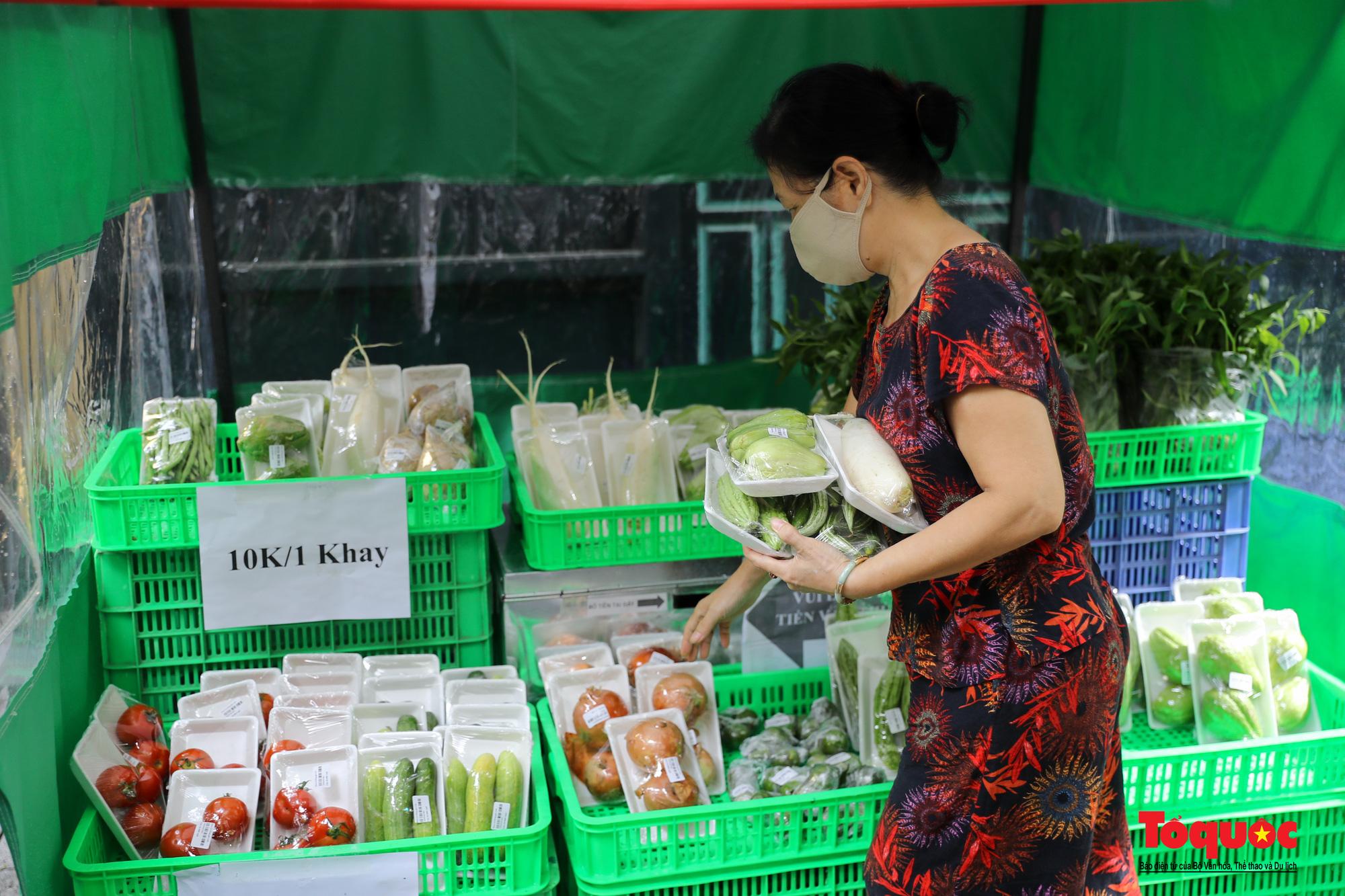 Hà Nội: Cửa hàng thiết yếu không người bán, người mua cũng không cần phải trả tiền ngay - Ảnh 4.