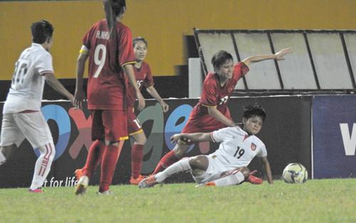 Đội tuyển nữ Myanmar vốn không xa lạ gì với đội Việt Nam bởi hai đội đã  từng chạm trán nhiều với nhau trong quá khứ.