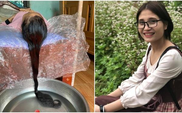 Cô gái chạy xe hơn 100km về nhà gội đầu cho mẹ lần đầu tiên và dòng chia sẻ khiến tất cả rưng rưng nước mắt