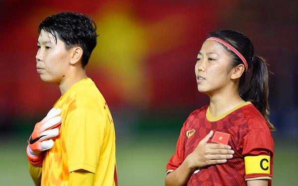 Cầu thủ nữ tuyển Việt Nam thận trọng trước các đối thủ tại vòng loại Asian Cup 2022