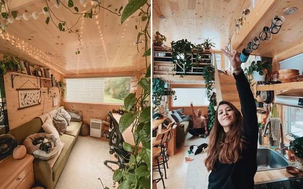 Cặp vợ chồng trẻ bỏ phố, dắt nhau vào rừng sống trong căn nhà gỗ đẹp hút hồn