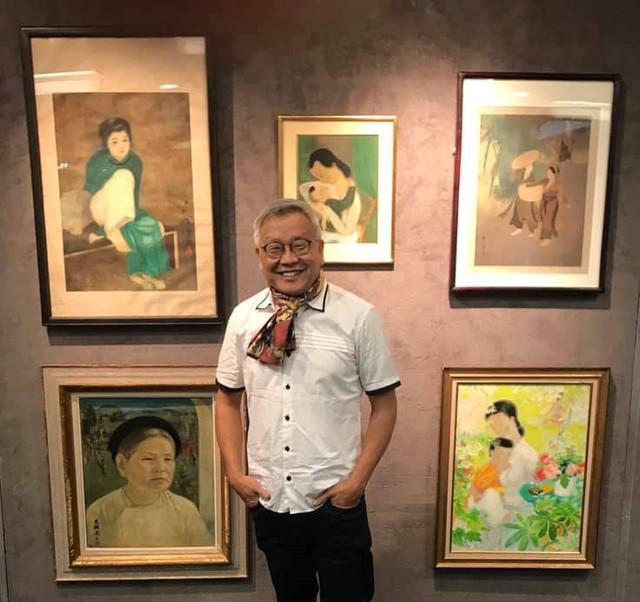 Tranh lụa của họa sĩ Việt được bán với mức giá kỷ lục gần 12 tỷ - Ảnh 2.