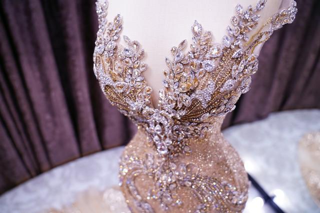 Lộ diện chiếc đầm dạ hội mà Phương Nga sẽ diện trong đêm chung kết Miss Grand International 2018 - Ảnh 1.