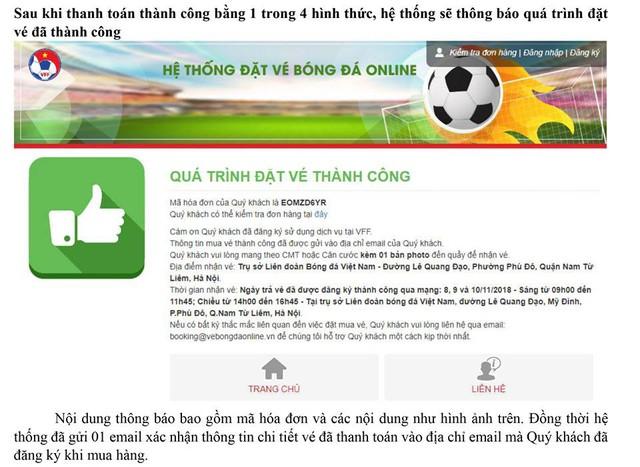 Hướng dẫn chi tiết cách mua vé online trận bán kết đội tuyển Việt Nam - Ảnh 10.