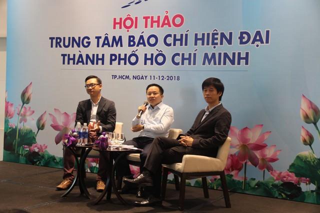 TP HCM chi 34 tỷ xây dựng Trung tâm báo chí hiện đại - Ảnh 1.