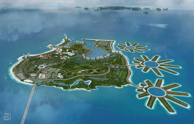 """Ông Đào Hồng Tuyển tiếp tục muốn """"lấp biển"""" để mở rộng đảo Tuần Châu - Ảnh 1."""