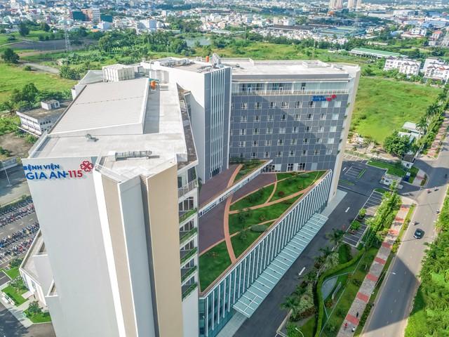 Cửa ngõ miền Tây TP HCM có bệnh viện 1.500 tỷ đồng - Ảnh 1.