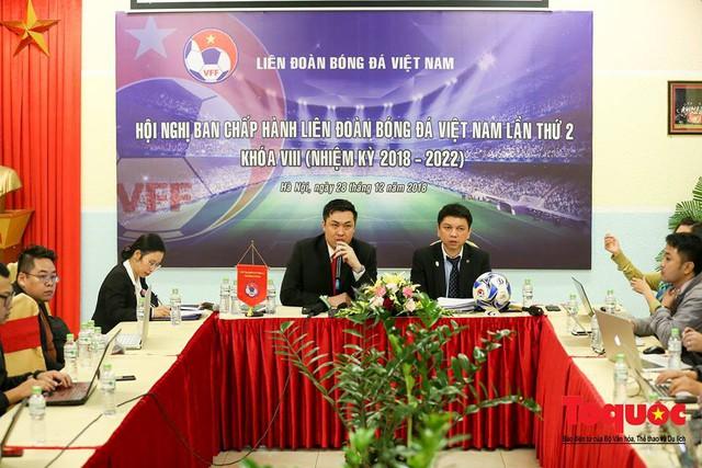 Nguyên Chánh Thanh tra Bộ VHTTDL Vũ Xuân Thành làm Trưởng ban Kỷ luật Liên đoàn Bóng đá Việt Nam - Ảnh 1.