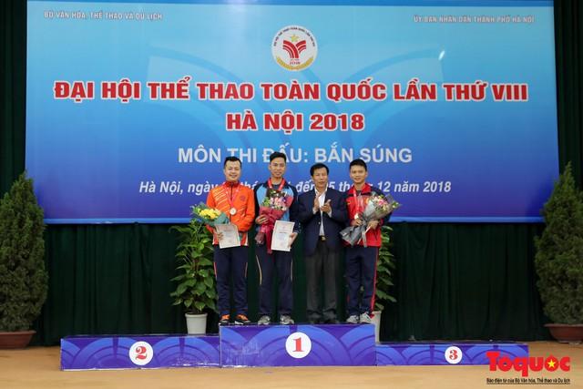 Bộ trưởng Nguyễn Ngọc Thiện gặp mặt, giao lưu cùng xạ thủ 4 lần vô địch Olympic, Jin Jong Oh - Ảnh 8.