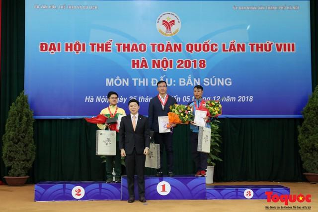 Bộ trưởng Nguyễn Ngọc Thiện gặp mặt, giao lưu cùng xạ thủ 4 lần vô địch Olympic, Jin Jong Oh - Ảnh 9.