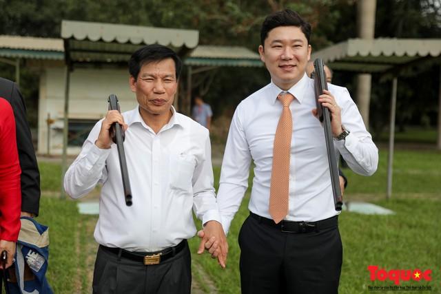 Bộ trưởng Nguyễn Ngọc Thiện gặp mặt, giao lưu cùng xạ thủ 4 lần vô địch Olympic, Jin Jong Oh - Ảnh 6.