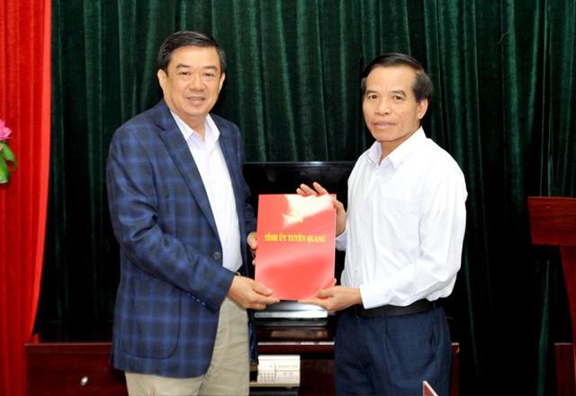 Nhân sự mới các tỉnh Bến Tre, Tuyên Quang, Bắc Ninh, Vĩnh Phúc - Ảnh 2.