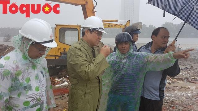 Nhiều giải pháp cấp bách chống ngập úng do mưa lớn ở Đà Nẵng  - Ảnh 2.