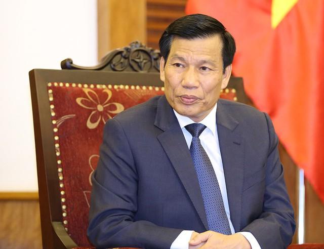 Bộ trưởng Nguyễn Ngọc Thiện gửi lời chúc mừng tuyển Việt Nam - Ảnh 1.