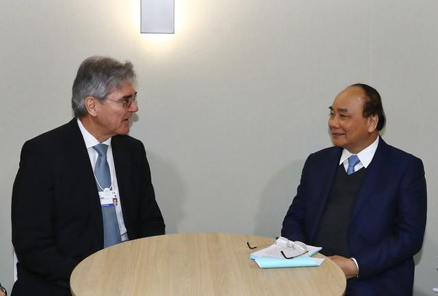 Thủ tướng có nhiều cuộc đối thoại, tiếp xúc song phương tại Davos - Ảnh 4.