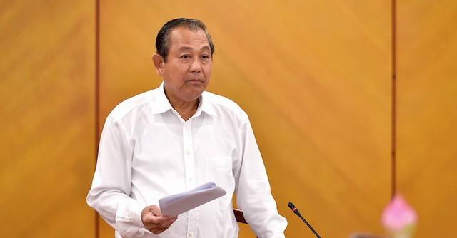 Phó Thủ tướng Trường Hòa Bình chỉ đạo xử lý vi phạm trong việc cấp giấy chứng nhận quyền sử dụng đất ở Hà Nội  và Bình Dương - Ảnh 1.