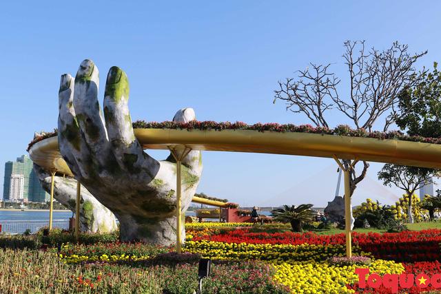 Người dân và du khách mê mẩn đường hoa Đà Nẵng Tết Kỷ Hợi 2019 - Ảnh 12.