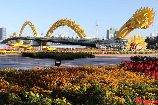 Người dân và du khách mê mẩn đường hoa Đà Nẵng Tết Kỷ Hợi 2019 - Ảnh 1.