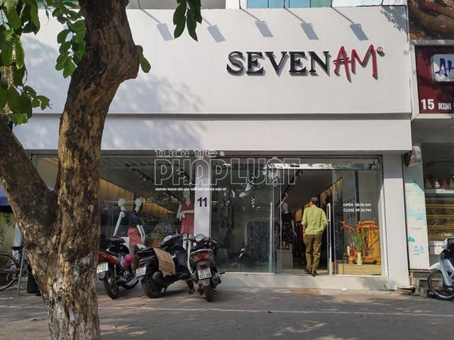 Kiểm tra 5 địa điểm kinh doanh thương hiệu thời trang SEVEN.AM trên địa bàn Hà Nội - Ảnh 1.