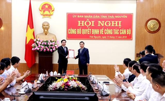 Thái Nguyên có tân Phó Chủ tịch UBND tỉnh  - Ảnh 1.