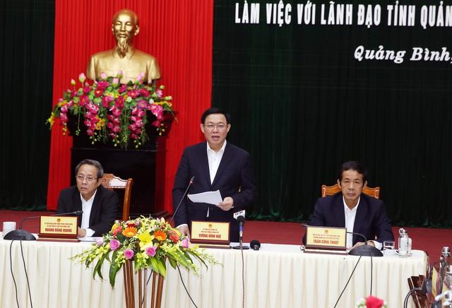 """Phó Thủ tướng: Quảng Bình cần """"học"""" Đà Nẵng tăng quản lý thu ngân sách - Ảnh 1."""