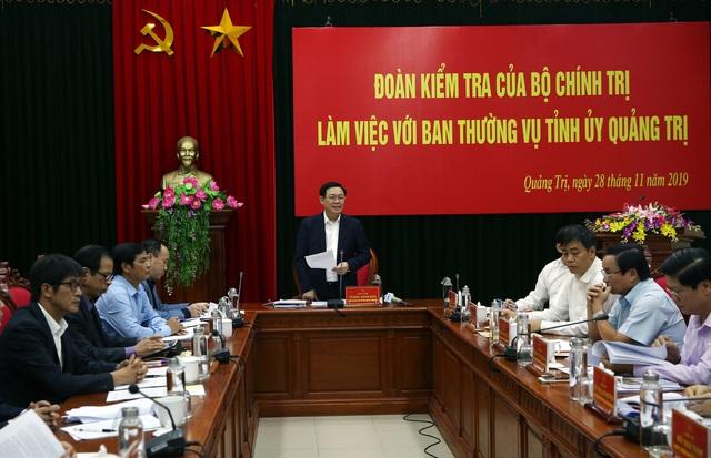 Đoàn kiểm tra 1152 làm việc với Ban Thường vụ tỉnh Quảng Trị - Ảnh 2.