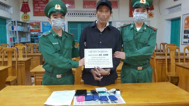 Quảng Bình: Bắt đối tượng vận chuyển hơn 1.000 viên ma tuý qua biên giới - Ảnh 2.