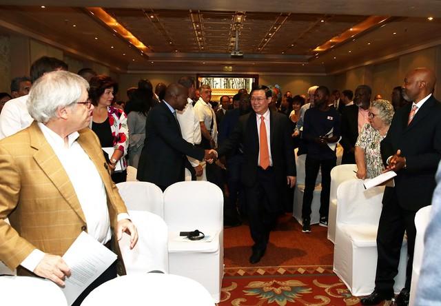 Nam Phi đã trở thành điểm đến quan trọng của nhiều doanh nghiệp Việt Nam - Ảnh 1.