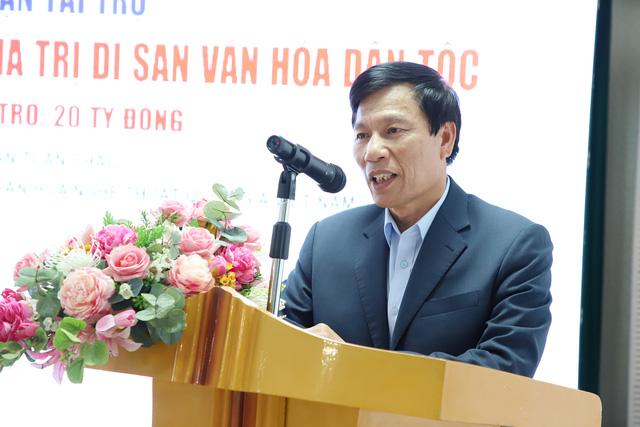 Viện Văn hóa Nghệ thuật quốc gia Việt Nam tiếp nhận tài trợ 20 tỷ đầu tư và phát huy giá trị di sản văn hóa dân tộc - Ảnh 1.