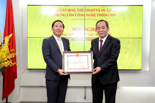 Thứ trưởng Lê Khánh Hải: Trung tâm Công nghệ thông tin đã có sự phát triển ổn định, bền vững - Ảnh 4.